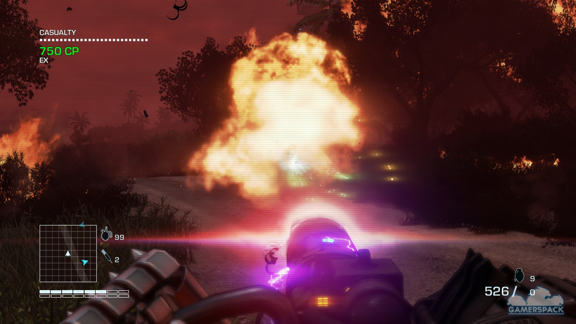 Far Cry 3 Blood Dragon Review The Future Smells Like The 80 S