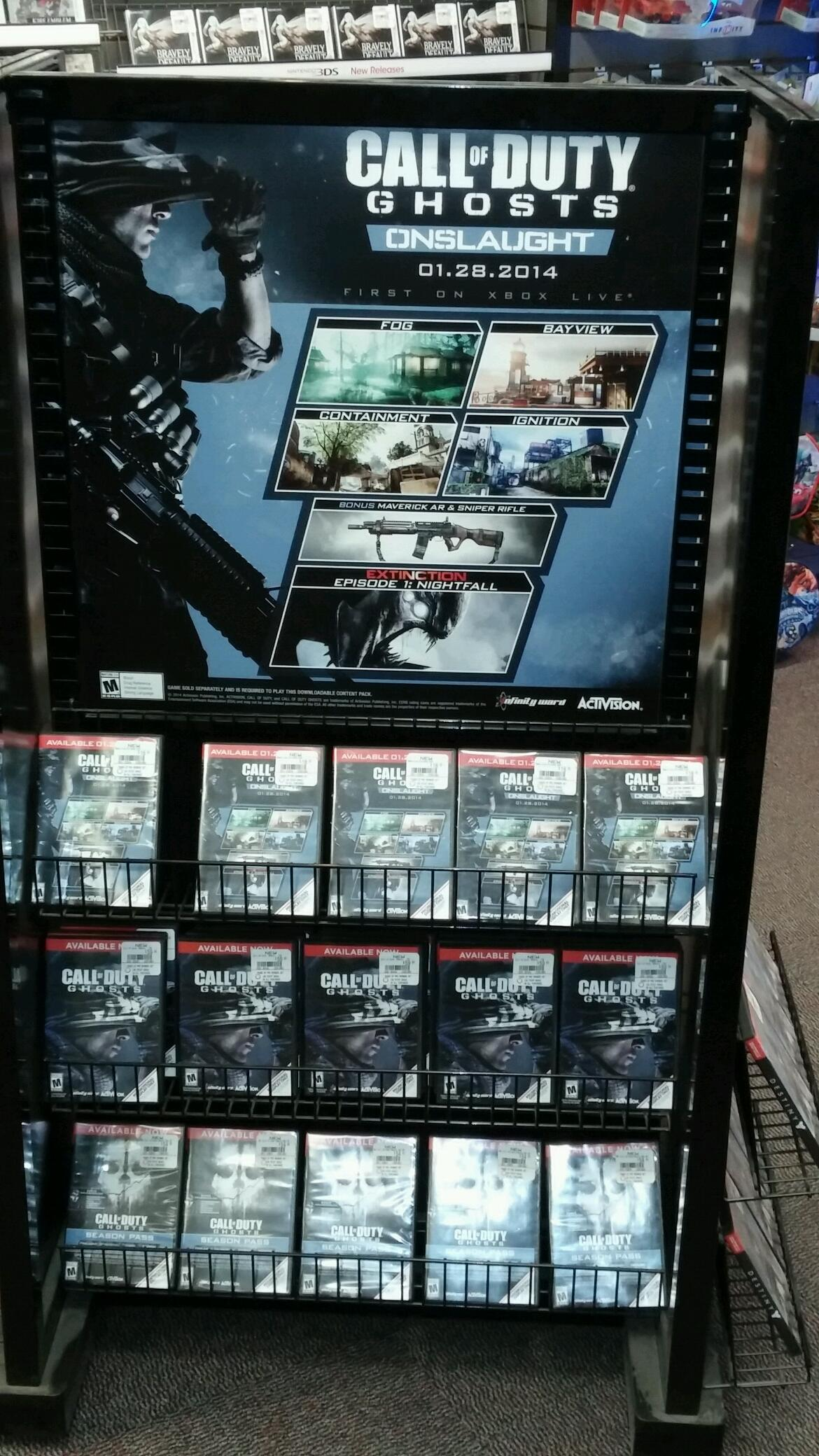 Leaked Poster Suggests Call Of Duty Ghosts Onslaught Dlc Is Dated